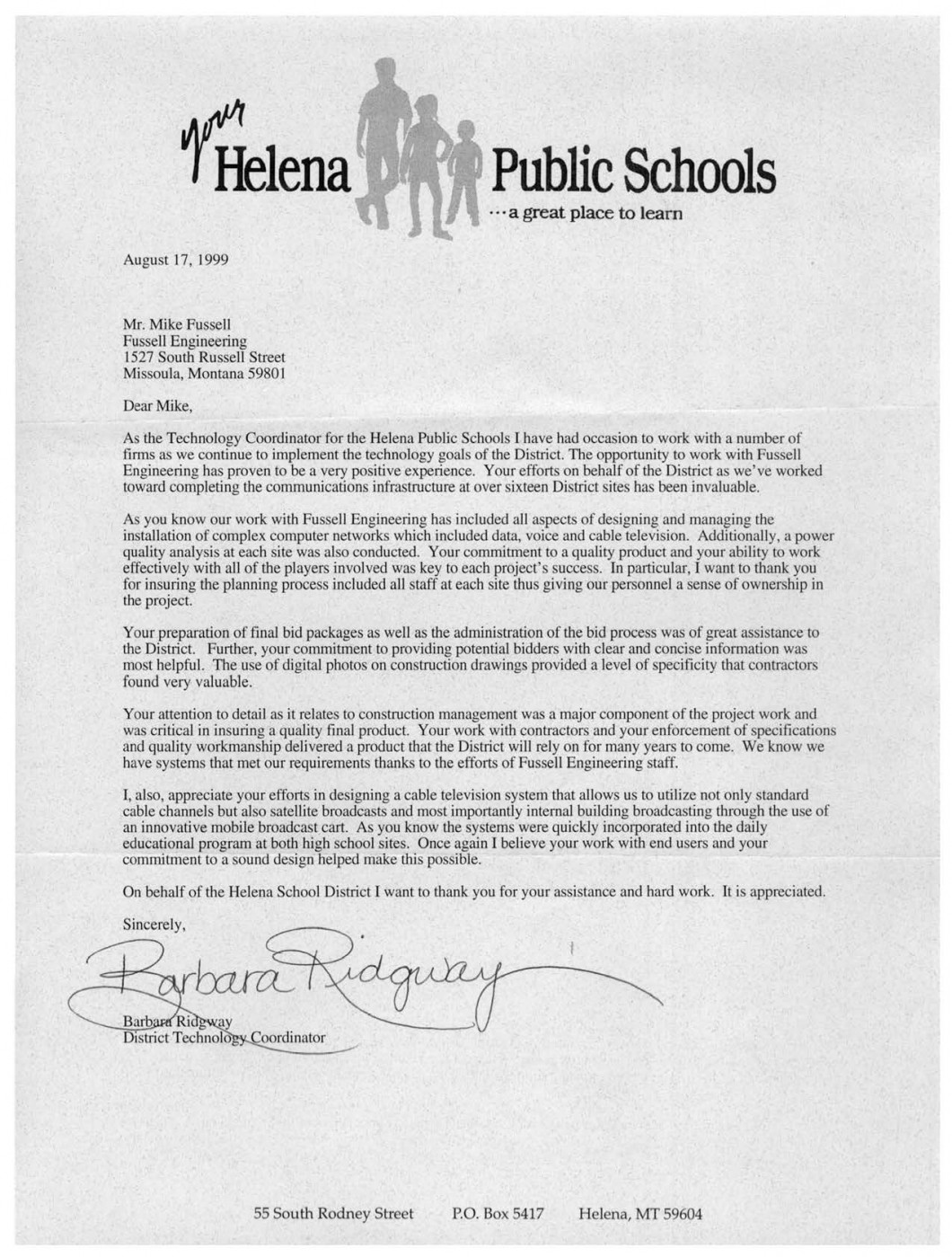 letter of recomendation more letters of recommendation fussell engineering 1413